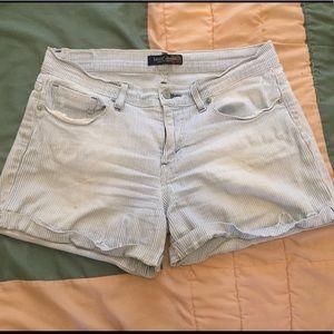 Levi's denim shorts - pin stripe, size 7